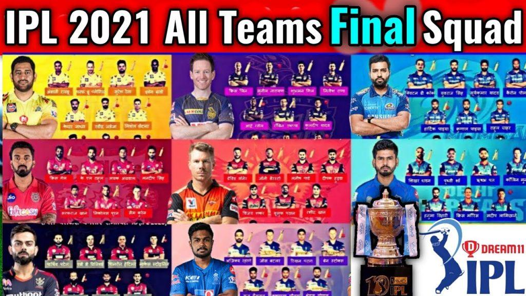 Teams in the IPL